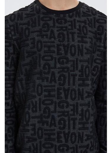 Loft Loft Erkek Sweatshirt LF2022169 LF2022169001 Siyah